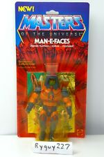 MOTU, Man-E-Faces, Masters of the Universe, MOC, carded, figure, sealed, He Man