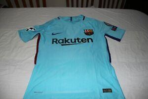 T-Shirt F.C Barcelona Brand Nike Size S Patches Champions No 9 Choco Lozano