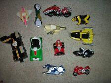 Lot Of 12 Power Ranger Assorted Vehicles !