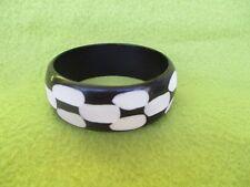 Armreif Armband aus Resin, Handarbeit, 2,5 cm breit - Art. 2878