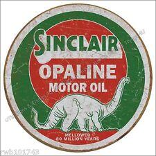 Sinclair Opaline Motor Oil TIN SIGN vintage dino ad garage metal wall decor 2047
