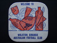 WILSTON GRANGE AUSTRALIAN FOOTBALL CLUB COASTER