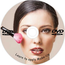 Learn how to apply Makeup Beginners Professional Training DVD Mascara Lipstick