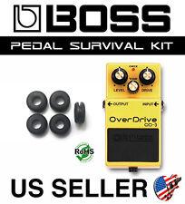 BOSS OD-3 OVERDRIVE SURVIVAL KIT GUITAR PEDAL GROMMET RUBBER O-RING SET OF 5