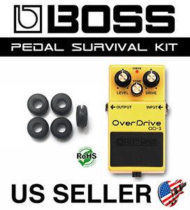 BOSS OD-3 Overdrive Guitar Pedal Grommet Rubber O-Ring Survival Kit (SET OF 5)