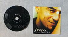 """CD AUDIO MUSIQUE / OBISPO """"L'IMPORTANT C'EST D'AIMER"""" CDS 2000  2T CARDSLEEVE"""