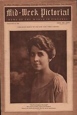 1924 Pictorial Cover of Mrs. Calvin Coolidge - First Lady of the Land