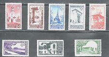 RUMANIA  ARTE . ARQUITECTURA 1940 603/10 8v.