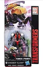 SLASH power of the primes TRANSFORMERS generations LEGENDS class NEW dinobot