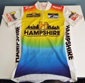 Netti Clothing Hampshire Old Vintage Cycling Racing Bike Shirt Top