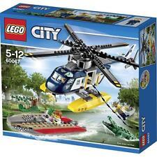 LEGO CITY INSEGUIMENTO SULL'ELICOTTERO 5-12 RARO FUORI PRODUZIONE  ART 60067