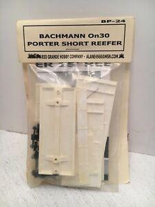 Bachmann On30 Porter Short Reefer BP-24 Train Model Kit NEW