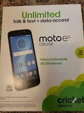 Sealed Motorola moto e⁵ cruise - 16GB - Navy (Cricket Wireless)