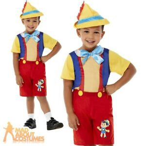 Toddler Puppet Boy Costume Child Fairy Tale Outfit World Book Day Fancy Dress