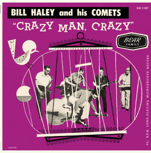Bill Haley Crazy Man Crazy Reissue of the rare 1957 Australia 10 INCH 25 CM NEW