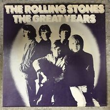 Rolling Stones The Great Years 4 Record Box Set Album Box Set