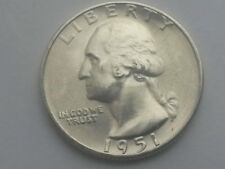 1951-s Washington GEM  BU beautiful luster  picked from original roll (1coineach