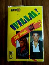 RARE WHAM THE FINAL  CASSETTE TAPE 1982-1986 MADE IN INDONESIA