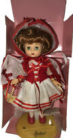 "Effanbee little red riding hood 11"" storybook collectors doll Wearing A Red Vest"