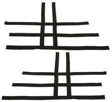 TRX 450R 300EX 300X  Nerf Bar Nets  Fit Alba Tusk       Black     B