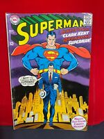Superman #201 Nov 1967 DC COMICS Curt Swan cover