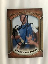 Graeme McDowell Signed Pga Tour Golf Card Goodwin Champions Autographed