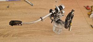SME 3009  Series 2   Tonearm + shure cartridge + side mount arm cable EXCELLENT