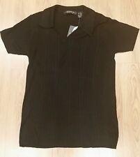cafc1dd576026c Liz Claborne Black Short Sleeve Top 100% Silk Size S