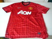maillot de football Manchester United AON  jersey  L Nike