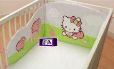 Tours de lit HELLO KITTY / Pour 60x120 OU 70x140 cm / Décoration bébé Noel NEUF