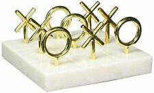 Jonathan Adler - Tic Tac Toe Set - Brass & Marble