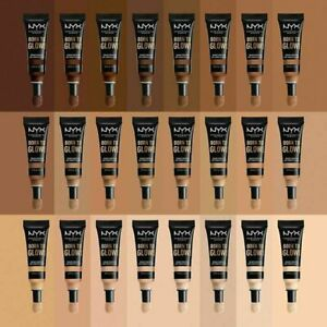 NYX Born To Glow Radiant Foundation & Concealer-Choose Your Shade- New Sealed