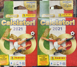 Calciatori Panini 2021 BOX SPECIAL PRICE 2x25 Figurine