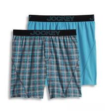 NWT Men's Jockey 2-Pack Knit No Bunch Boxers