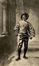 Portrait de Valentin - d'après Ernest Meissonier Illustration 1893