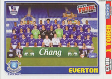 N°109 TEAM EVERTON.FC STICKER TOPPS PREMIER LEAGUE 2009