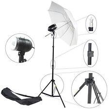 Kit Éclairage Studio Barebulb Lampe DynaSun SDW80 Flash Parapluie Trépied Sac