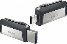 SANDISK ULTRA DUAL TYPE-C USB 150MB/sec 64GB USB FLASH DRIVE NEW AU