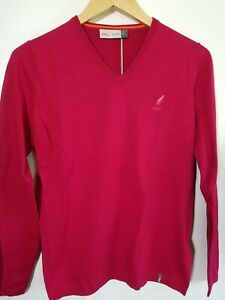 1 NWT KJUS WOMEN'S SWEATER, SIZE: LARGE, COLOR: RED (J153)