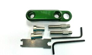 Avet Reel Clamp Set for EXW30/2 EX50/2 EXW50/2 - Clamp, Bolts & Nuts - GREEN