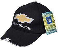 Chevy Trucks Gold Bowtie Bowtie Brushed Cotton Black Hat