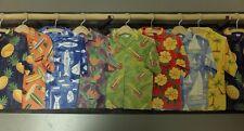 1 roll of Seabrook Grey Wood Hawaiian Shirts Wallpaper Border PC131B #01 /RA36