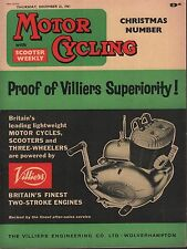 Motor Cycling December 21 1961 Villiers Superiority, Christmas Issue 071717DBE