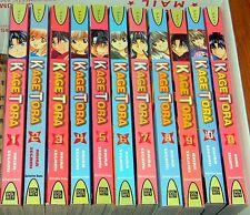 11 (1-11) KAGE TORA Manga DEL RAY Books COMPLETE SERIES Akira Segami