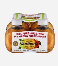 Martinelli's Gold Medal 100% Apple Juice 4 Pack 10 FL.OZ Bottles TIK TOK