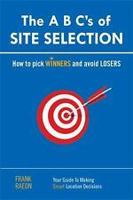 A B C S of Site Selection by Frank Raeon Paperback Book (English) EXCELLENT