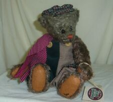 Cisco 12in retired Ganz Cottage Collectibles Hobo wobble jointed teddy bear 1172