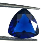 1.80 Carat Blue Sapphire Trillion Cut Loose Gemstone Natural AGI Certified CH29