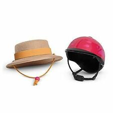 American Girl Doll Saige's Parade Hat and Helmut NIB GOTY