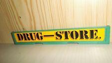 Playmobil Western Schild Schriftzug Drug Store 3424
